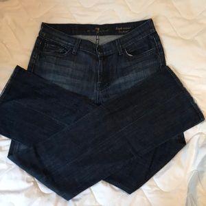 """7FAM HIGH Waist Jeans (32"""" inseam) Bootcut"""